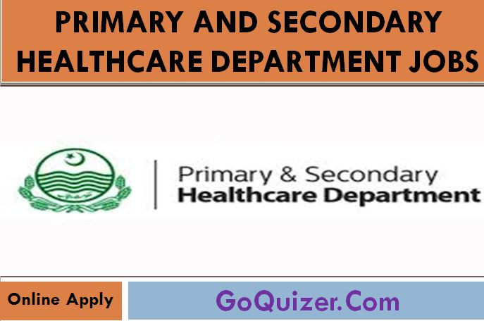 Primary and Secondary Healthcare Department