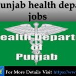 Punjab health department jobs