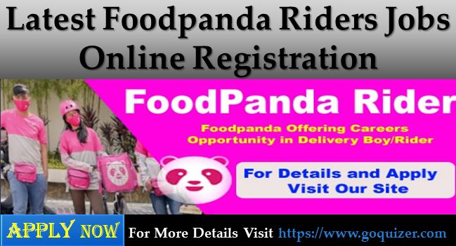 Foodpanda Riders Jobs