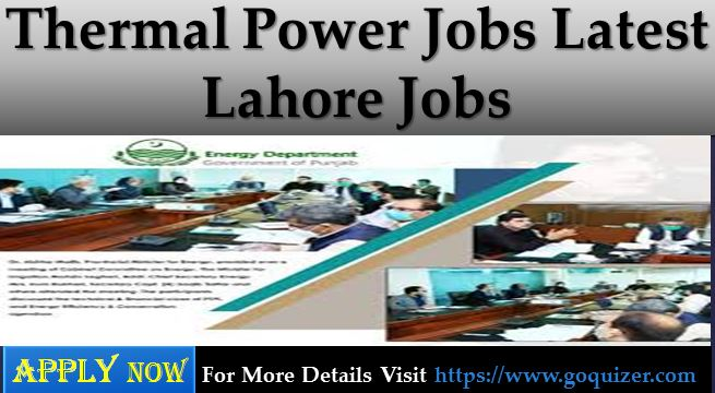 Thermal Power Jobs